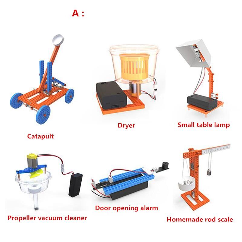 Potence Science éducation jouet bricolage invention modèle expérience scientifique jouet set meilleur cadeau pour les enfants