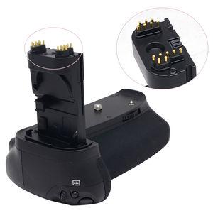 Image 5 - JINTU prise de batterie puissance pour Canon EOS 70D 80D DSLR appareil photo + 2 pièces Recharge LP E6 kit de batterie BG E14 de remplacement
