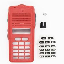 Услуги Запчасти CP1660 EP350 спереди Корпус радио Дело Refurb Комплект для Motorola CP1660 EP350 PTT ручка кнопка Walkie Talkie Корпус