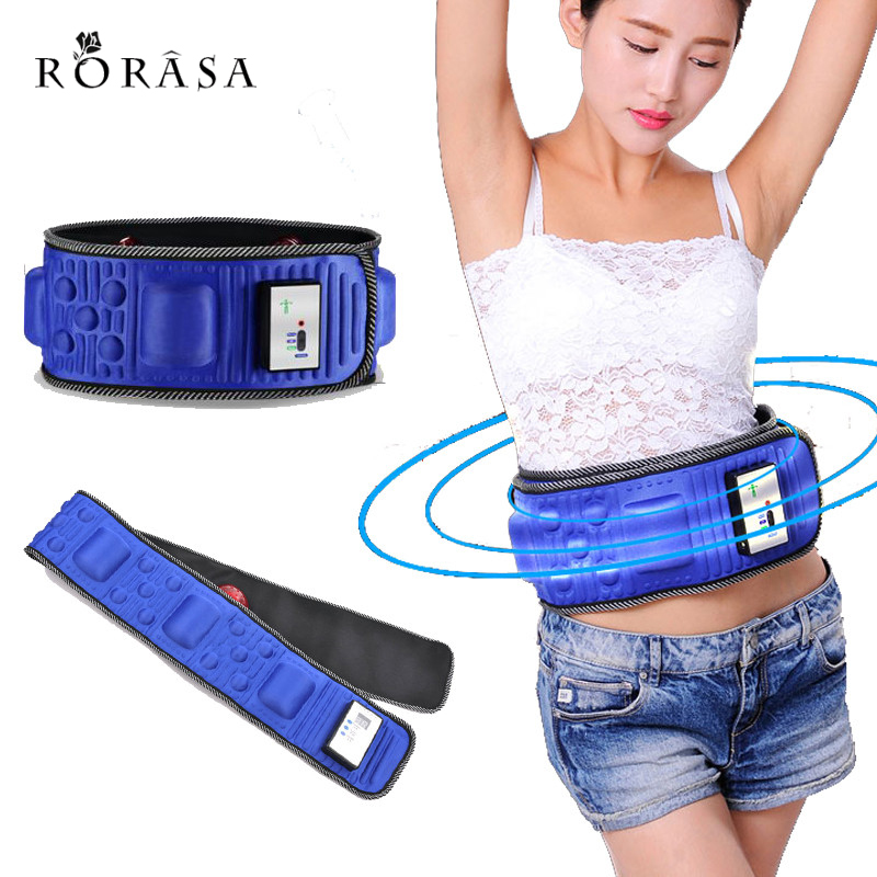 Electric Fitness Vibrating massager slimming belt vibration massage fat burning Shake Belt Waist Trainer weight lose effective electronic massage belt body shaping machine electric fitness massager