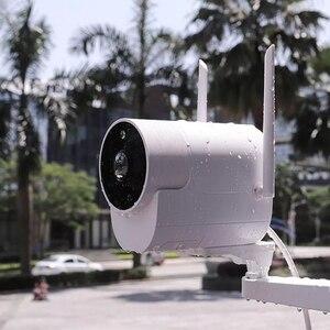 Image 2 - Xiaovv наружная панорамная камера наблюдения камера 1080P беспроводная WIFI Высокая четкость ночного видения работа для приложения Mijia