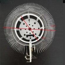 Elemento de aquecimento redondo de 220 240 v 2000 w para o aquecimento bonde da sala de lavagem do calefator de sun