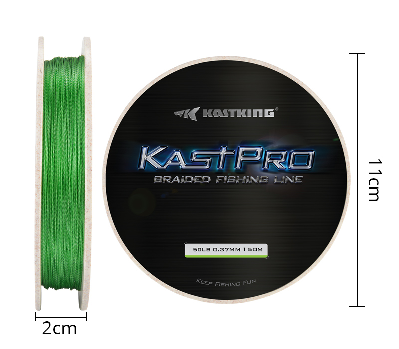 KastPro CN 150m Grass Green PC--Details (10)