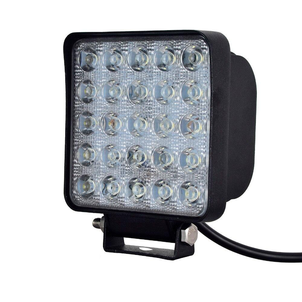 Parking Lot Lighting Watts Per Square Foot: Aliexpress.com : Buy 10x75W LED Car Lights Square Shape