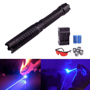Image 4 - The Most Powerful Laser Torch Burning 70000m Blue Laser Pointer 450nm Ignite Powerful Powerful Lazer Self Defense