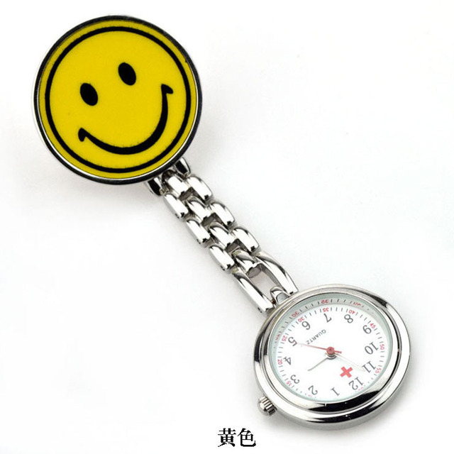 New Smile Medical Nurse Watch With Safety Brooch Pin Hanging Pocket Nurse Fob Wa