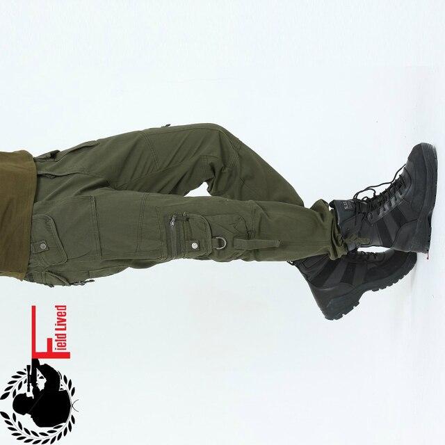 Marque Vêtements Hommes Baggy ARMÉE PANTALON CARGO Militaire Style Tactique Pantalon  Poches de Combat Extérieur Multi