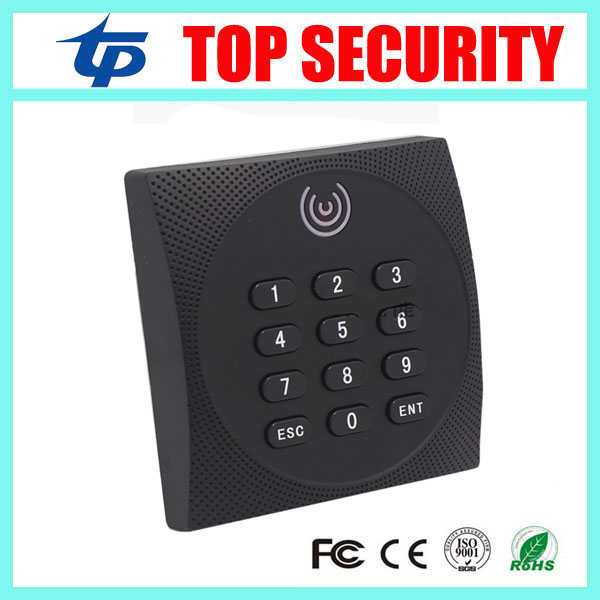 ZK KR602 IP64 waterproof smart card reader with keypad and led card access control reader keypad weigand26 smart card reader 125khz rfid card reader weigand26 card access control card reader with keypad ip65 waterproof card reader kr102 zk software