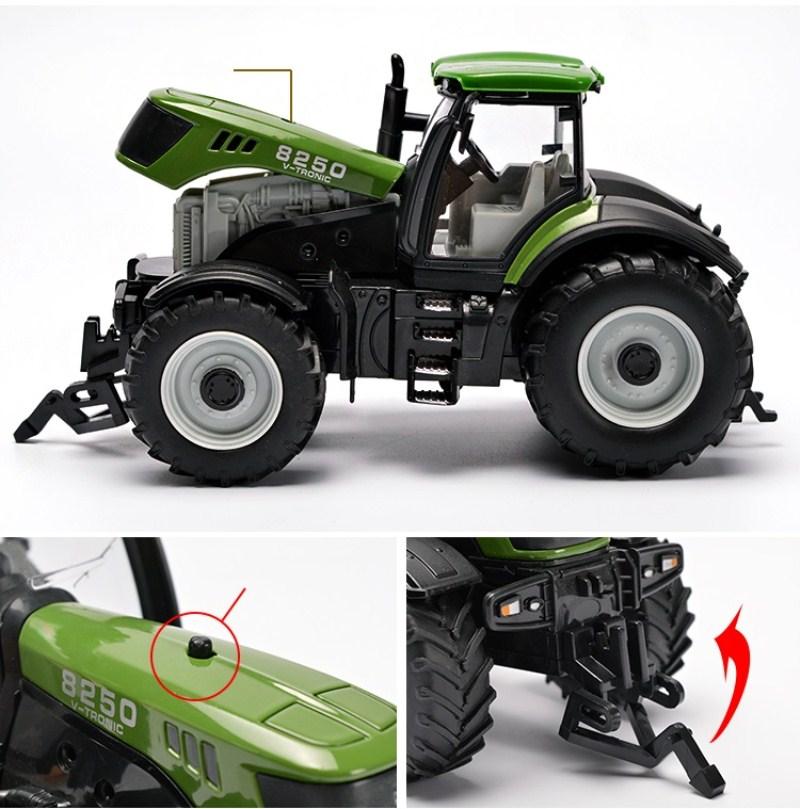 Farm Vehicles Tractor Car Model 34