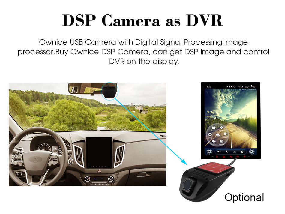 Car dvd C600 DVR