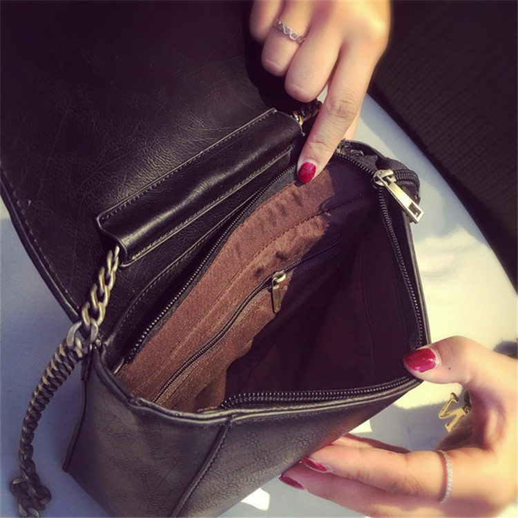 2015 New Fashion Women Bag Leahter Handbags Small Messenger Bolsa Feminina Crossbody Shoulder Bags  Bolsos Famous Brands Lady 007