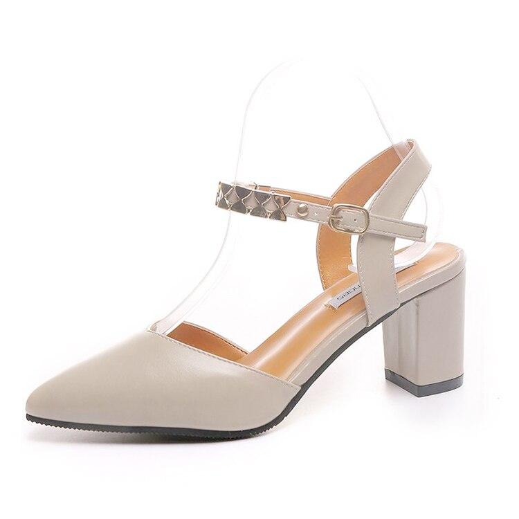 Stiletto Talons Profonde Noir Pointu Sexy Polyvalent kaki Coréenne Bouche De Daim Version 2018 Hauts Confortables Nouvelle ardoisé Peu La 1P4FFx
