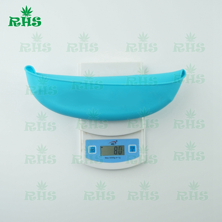 2pcs free shipping Waterproof, durable , easy to clean food grade silicone baby bids with food pocket from RHS factory