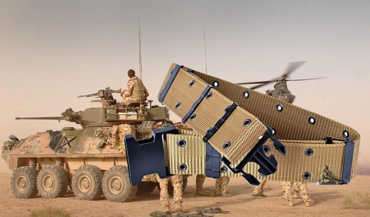 1Pc Adjustable Survival Tactical Belt Emergency Rescue Rigger Militaria Hunting belts