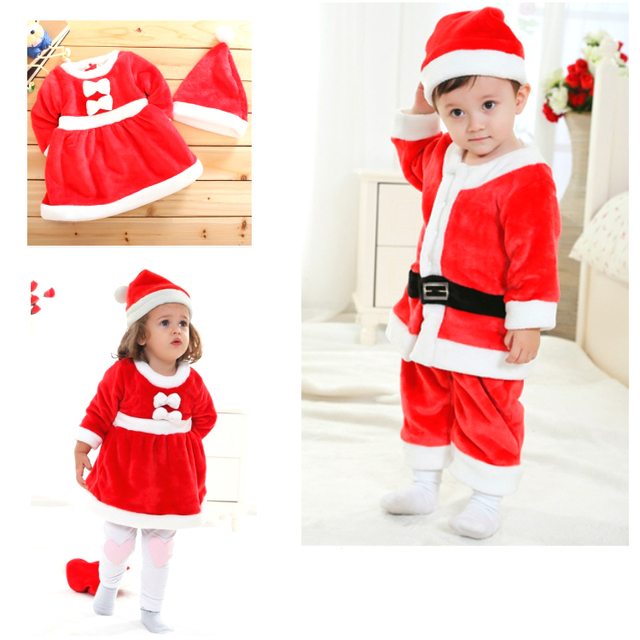 Christmas Baby Clothing Set Super Soft Child Kids Thicken Baby Pajamas Boys Girls Warm Christmas Baby Sleeping Bag 0-3 years old