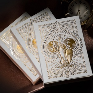 Tycoon Ivory Playing Card Deck by Theory 11 Collectible Cardistry Cards 1Pcs New Sealed Magic Deck Props Magia Tricks(China)