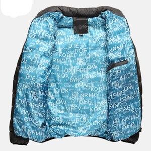 Image 5 - VISADA JAUNA 2019 남성 다운 코튼 자켓 코트 솔리드 컬러 브랜드 와일드 패딩 가을 겨울 남성 패션 빅 사이즈 6XL N5107