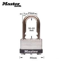 все цены на Master Lock Keyed Padlock laminated steel lock with standard steel adjustable shackle,length adjusts from 5/8-inch to 2-inch онлайн