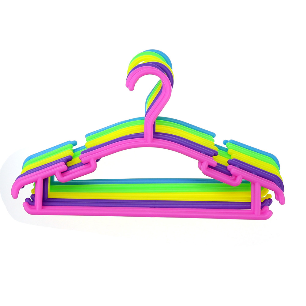 Clothes Hangers Portable Arc Hook Design Outdoor Clothes Drying Rack For  Children Plastic Baby Hangers