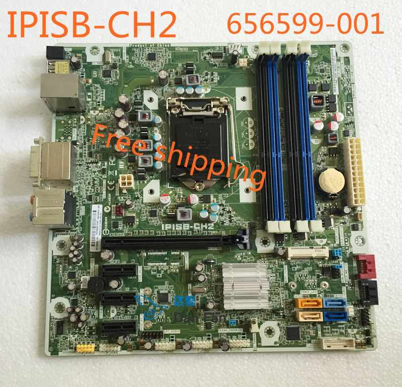 656599-001 For HP H8 H8-1020es Elite 7300 MT Desktop Motherboard 623913-002 IPISB-CH2 LGA1155 Mainboard 100%tested Fully Work