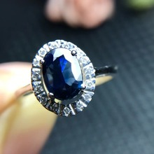 Sapphire Ring18K Oval Simulate Gemstone Colorful Ring Jewelry Fascinating