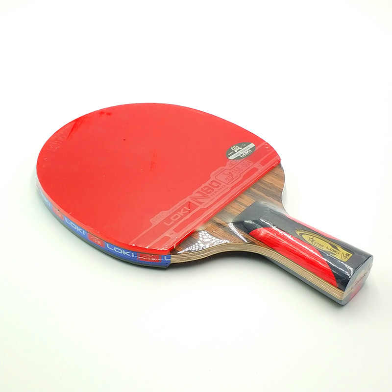 LOKI Fast Attack Table Tennis Racket Ebony Carbon Table Tennis Bat Arc Pingpong Racket Ping Pong Racquet