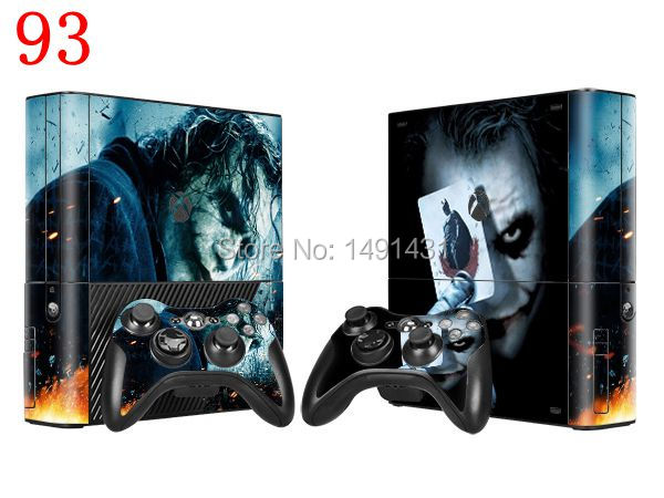 OSTSTICKER 2015 Joker Bat Vinyl Skin Sticker Protector for Microsoft Xbox 360 E