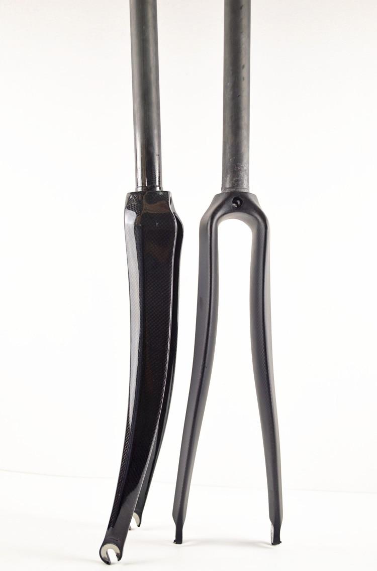 Fork Full Carbon Fibre Road Bicycle font b Bike b font frame Fork bicycle parts carbon