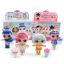 EAKI Original Surprise Girl doll DIY lol princess Dress up dolls Ball Girls Toy Puzzle Toys for Kid birthday Christmas gifts CD1 стоимость