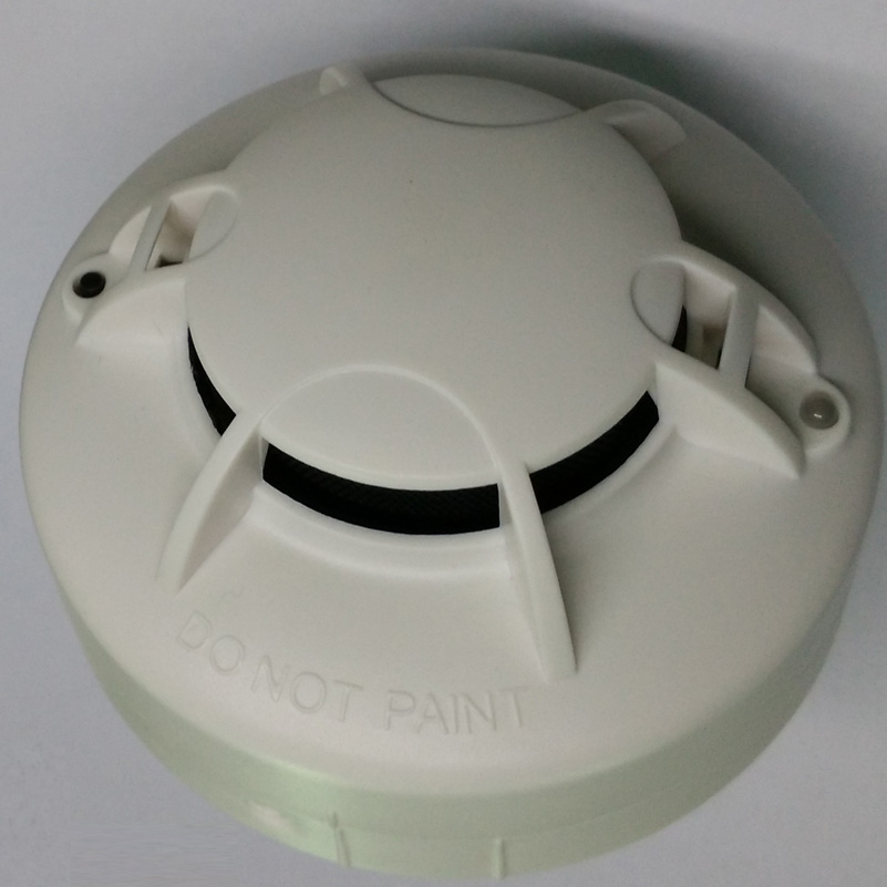 Battery  dc 9v and  AC 110-270v Smoke Alarm     Optical Smoke Detector  DC9V &AC smoke detector battery ac