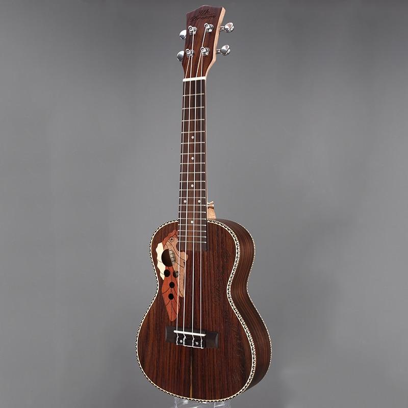 Instrumentos Musicales de la Guitarra Acústica De Madera Marrón de $ number pulg