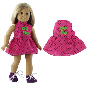 Image 4 - 5 Set Doll Clothes For 18 Inch American Doll Doll Handmade Casual Wear