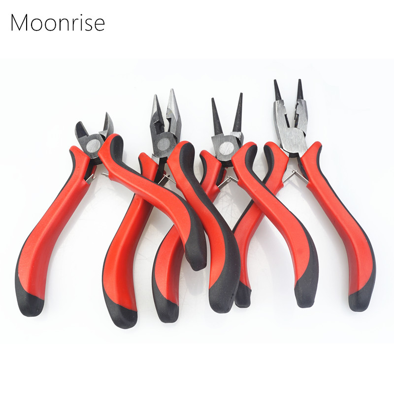 DIY Jewelry Pliers Tools Equipment Round-Nose Pliers Needle Nose Pliers For Handcraft Beadwork Wire Cutter Pliers HK046 цена
