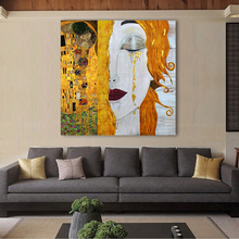 Gustav Klimt Golden Tears