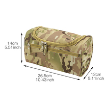 Casual ArmyGreen Men Travel Camouflage Cosmetic Bag Zipper Make Up Case Organizer Pouch Toiletry Makeup Wash Bags new travel men organizer cosmetic bags daily essential portable hook make up pouch brand multifunctional woman toiletry bag case