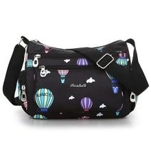 New 2018 cluth Shoulder Bag Rural style Waterproof Oxford Messenger Women Contracted joker Crossbody light leisure