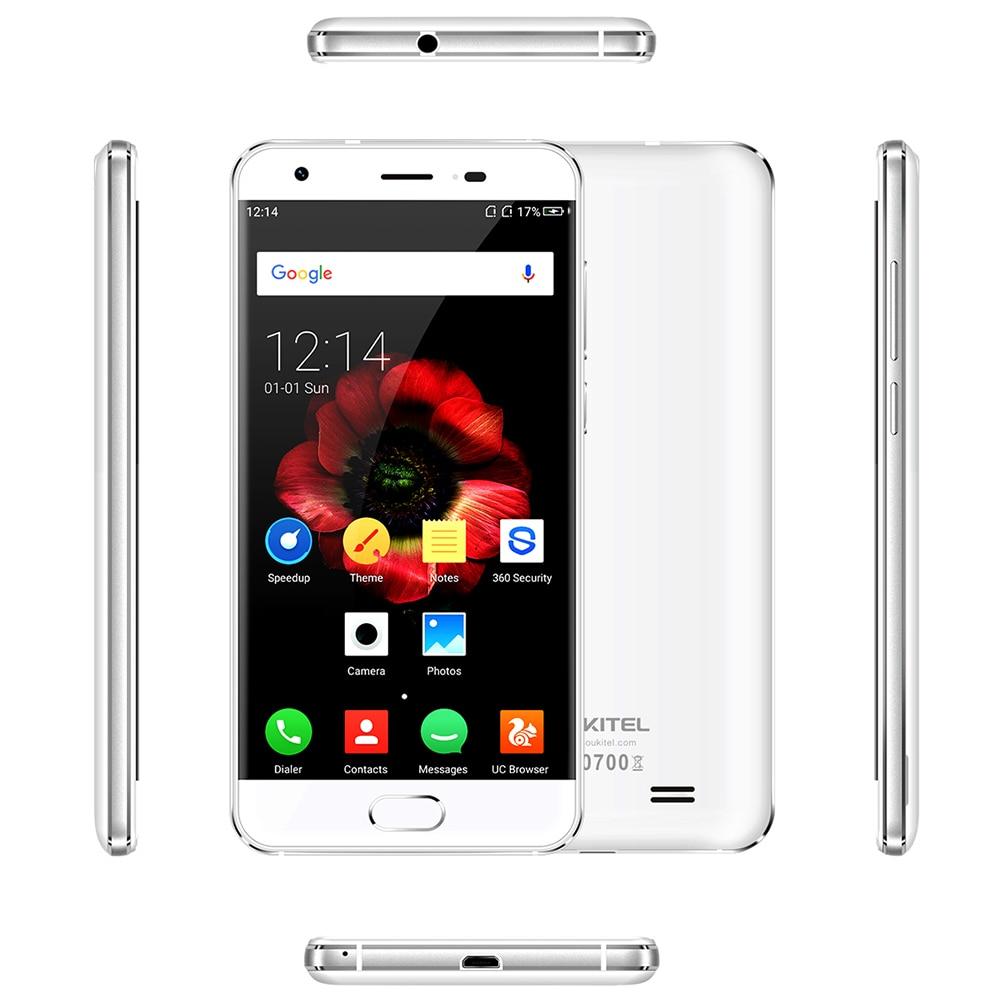 Promot! OUKITEL K4000 Plus 4G Mobile Phone 5 Android 6.0 MTK6737 Quad Core 2GB RAM 16GB ROM 13.0MP+5.0MP 4100mAh Touch TD