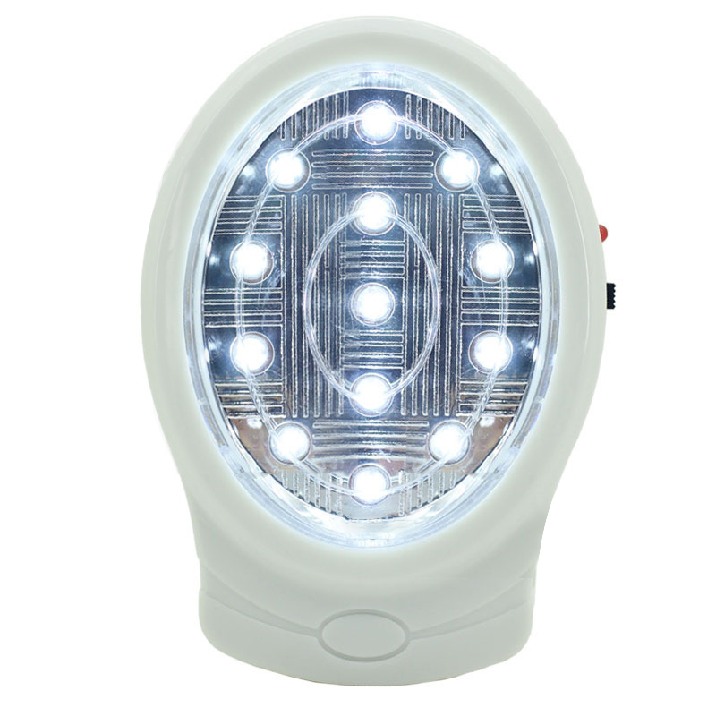 13 LED Single LED Rechargeable Wall Home Emergency Power Failure Lamp EU Plug AC110-240V For Bedroom Night Light