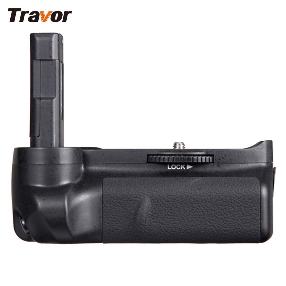 Travor Battery Grip Pack Holder For Nikon D3100 D3200 D3300 DSLR Camera Work With EN-EL14 Battery