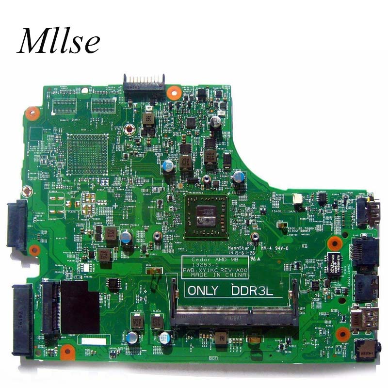 Free Shipping Laptop Motherboard For DELL Inspiron 3541 3441 3542 3442 PC Mainboard AMD CN-0HMH2G 0HMH2G XY1KC 13283-1 Tesed