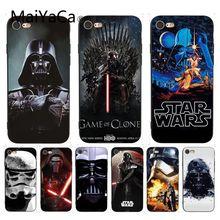 MaiYaCa для iphone 7 6 X Чехол Звездные войны Coque Оболочка Чехол для телефона для iphone 7 6X6 S 6plus 7 7plus 8 8Plus X XS XR чехол