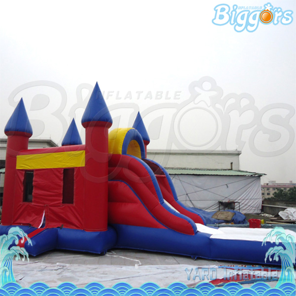 2018 Inflatable Bounce House Inflatable Jumping Castle Bouncer with Slide large inflatable slide with firetruck theme inflatable bouncer