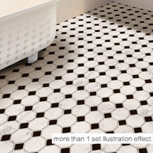 Anti-skid Wallpaper Self-adhesive Stickers Bathroom Kitchen Floor Stickers(China)