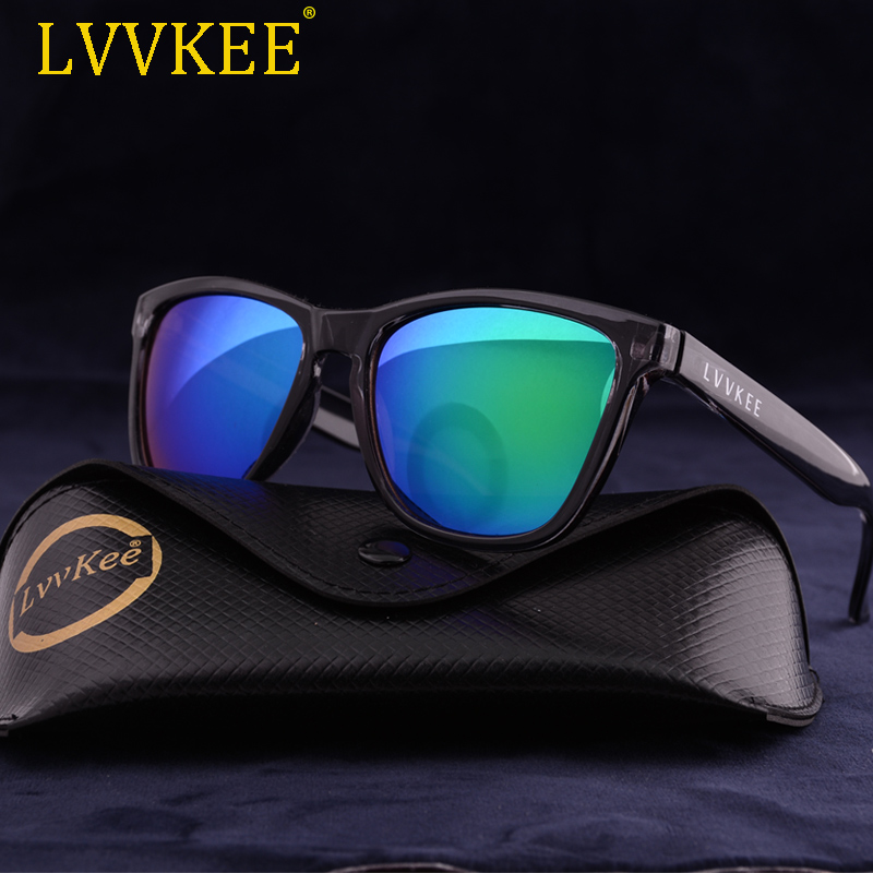 LVVKEE 2018 NYA Sommarsport Solglasögon Kvinnor / Män Brand Design Beach Sun Glasses Outdoor Eyewear Med Logo & Original Packaging