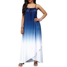 (Ship from US) Adogirl Strap Bohemian Long Dress 2018 Summer Autumn Women  Sleeveless Dresses Fashion Casual Loose Dress Beach Sundress f5347a764dfc