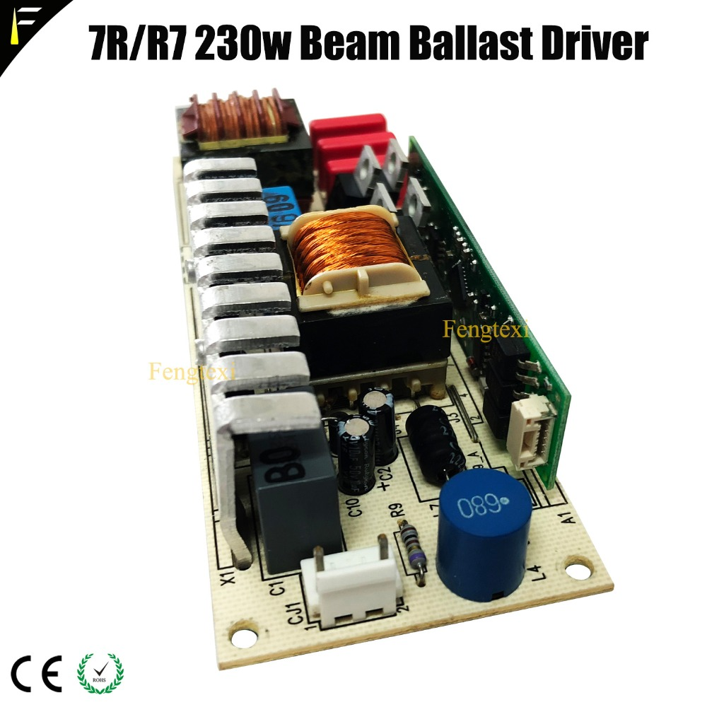 цена на Beam 7R 230w Electronic Ignitor Ballast Power Board Supply 380v R7 230 Moving Head Beam Lamp 7R Driver Ballast Replacement