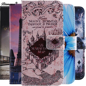 Cover For ZTE Z MAX PRO Z981 Z988 Case PU Leather Flip Wallet Card Holder Case For ZTE AXON 7 For iPhone 5 5s SE Coque Touch 6