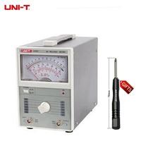 UNI T UT621 Analog voltage/digital voltmeter/analog multimeter 100uV 300V Millivoltmeter