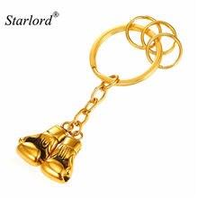 Лидер продаж брелок для ключей в виде боксерской перчатки золотого