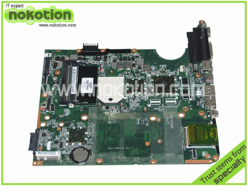 все цены на NOKOTION 574681-001 DAUT1AMB6E0 Laptop motherboard for HP Pavilioin DV7-3000 Mainboard full tested онлайн